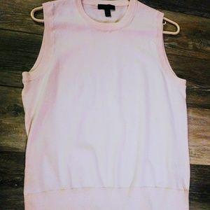 J.Crew pink sleeveless top